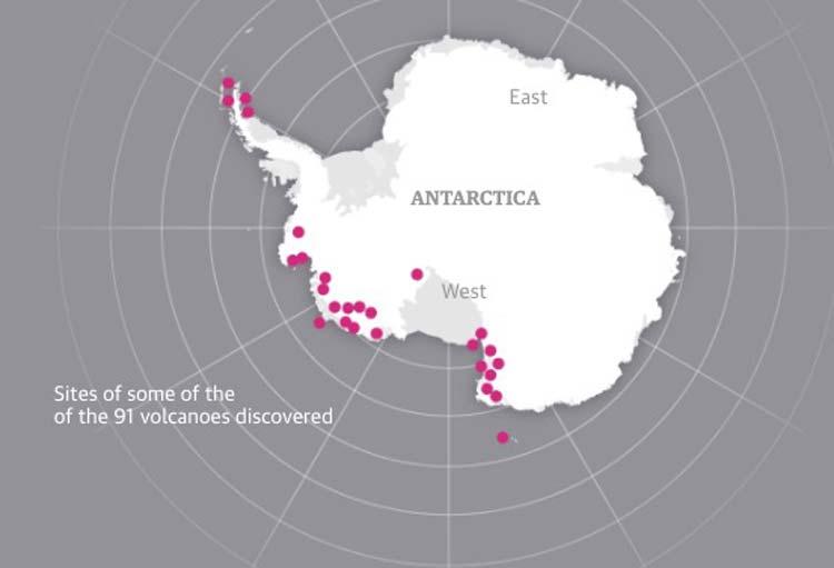 Ανταρκτική ηφαίστεια