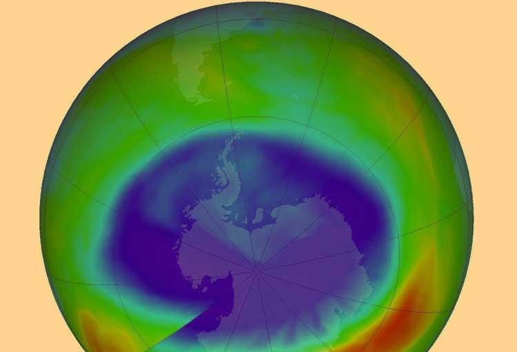 τρύπα όζοντος