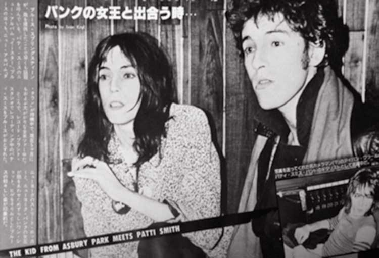 springsteen patti smith