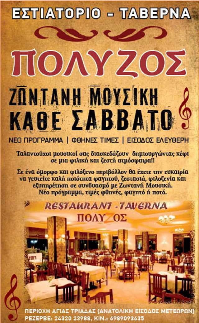 POLYZOS ZONTANH MOYSIKH FEB