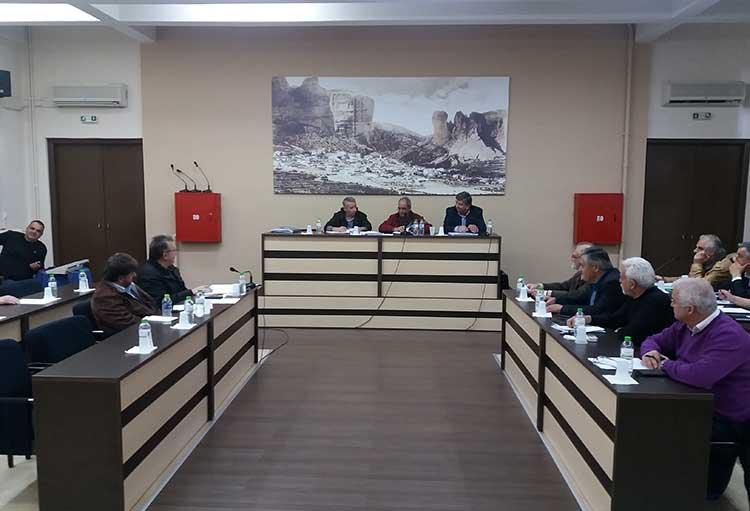 συνεδρίαση Δημοτικού Συμβουλίου Καλαμπάκας